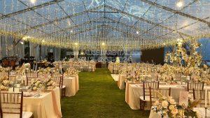 sewa tenda transparant,sewa tenda wedding,sewa tenda exclusive